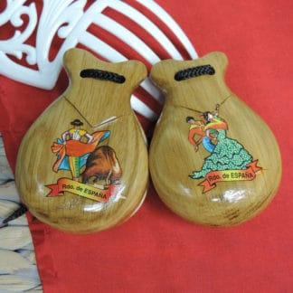 souvenir castanets
