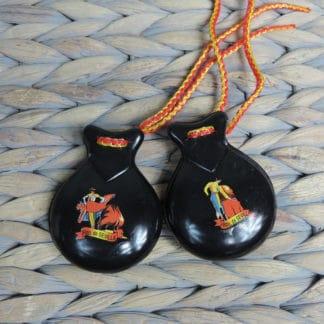 plastic souvenir castanets