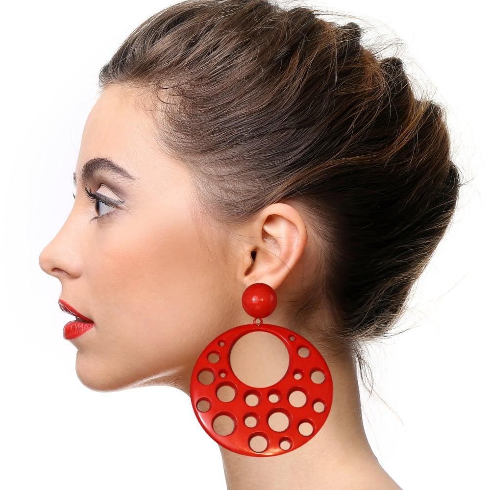 flamenco earrings