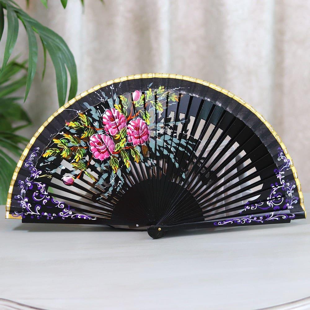 Spanish painted fan