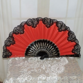 Hand painted pericon fan