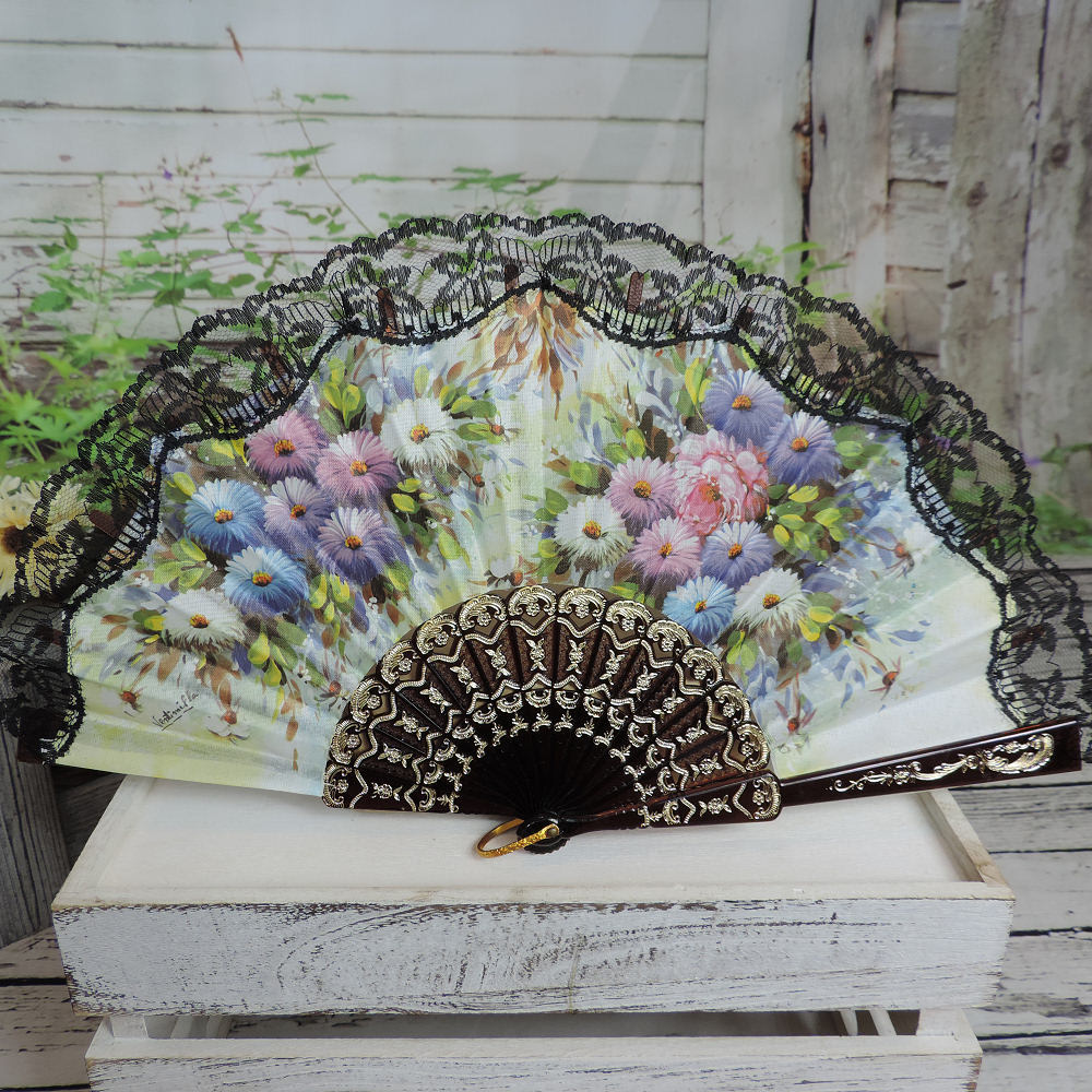 Spanish printed fan