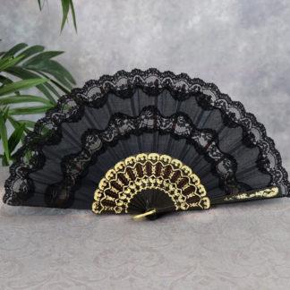 Double lace fan