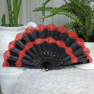 Spanish Lace Hand Fan