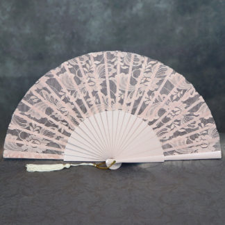 lace bridal hand fan