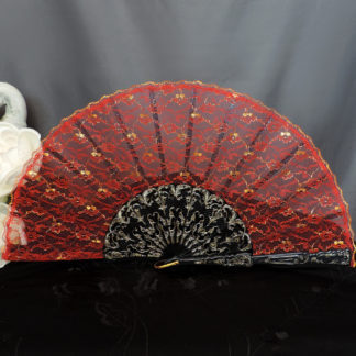 all lace hand fan