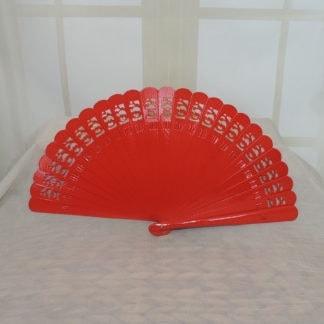 solid color wood fans