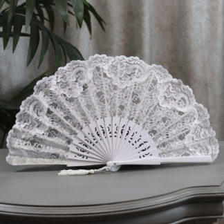 Spanish Lace wedding fan