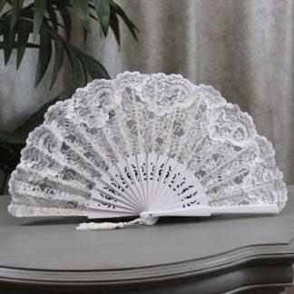 Spanish Lace wedding fan