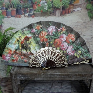 Traditional Spanish hand fan