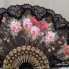Large floral fan