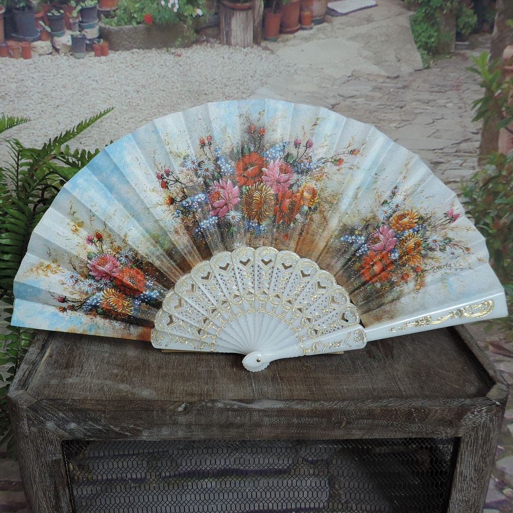 screen printed fan
