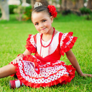 girls flamenco dress