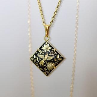 damascene necklace