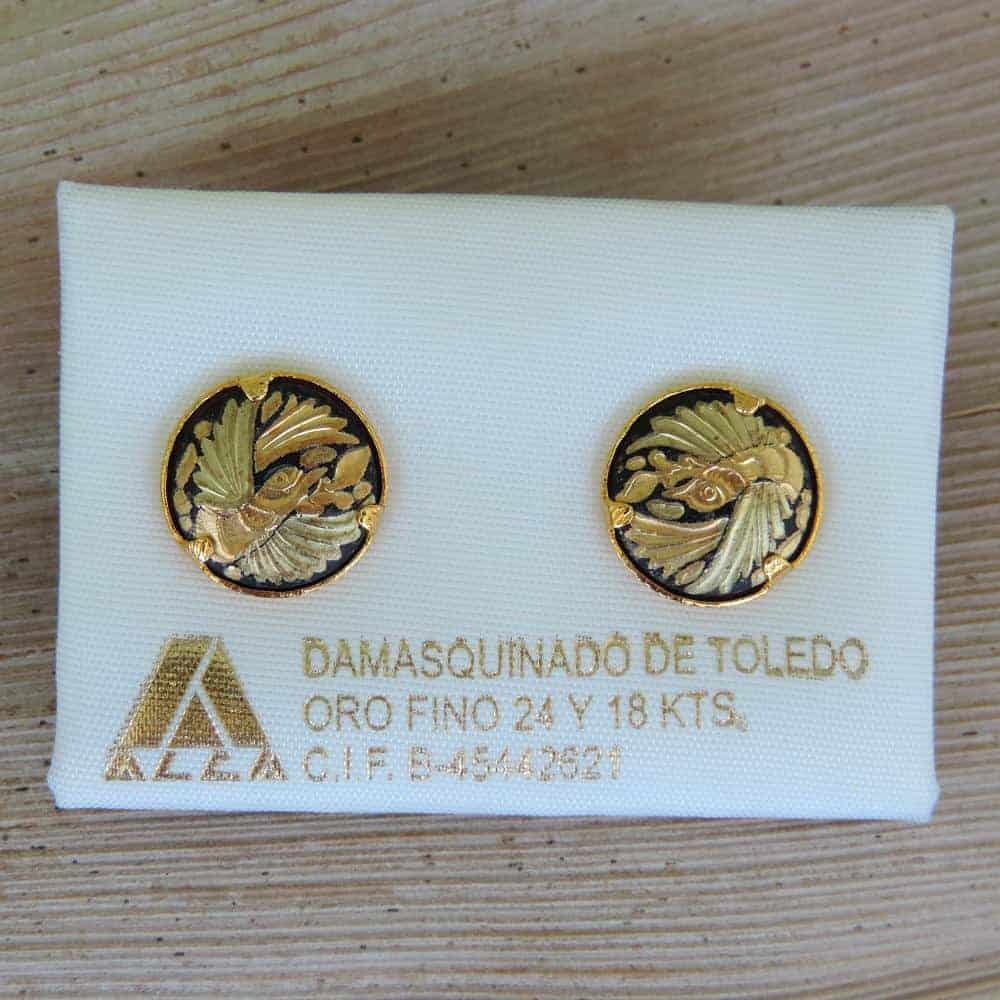Damasquino post earrings