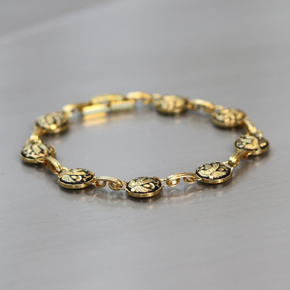 damascene bracelet