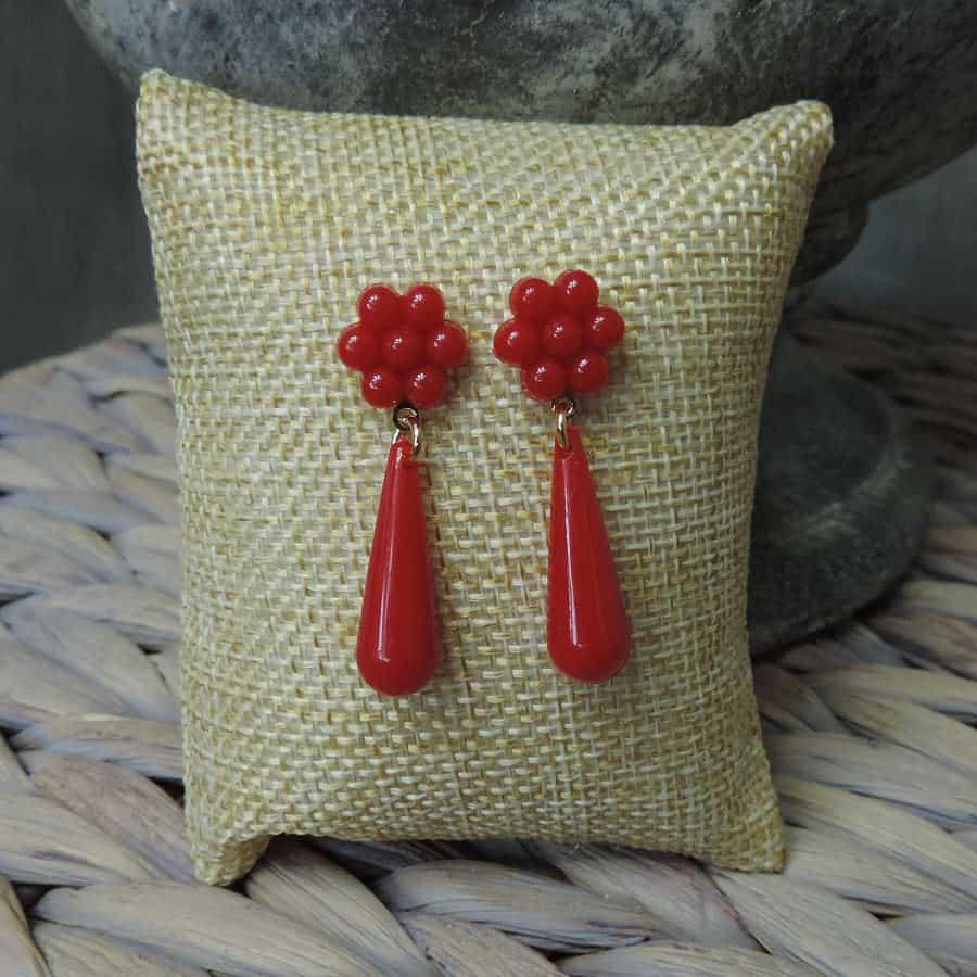 Childrens teardrop earrings