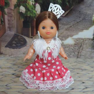 small flamenco doll