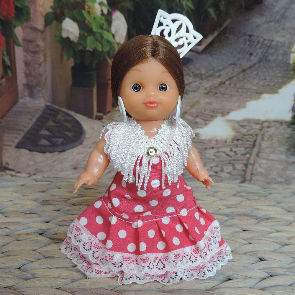 small flamenco doll