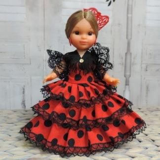medium flamenco doll