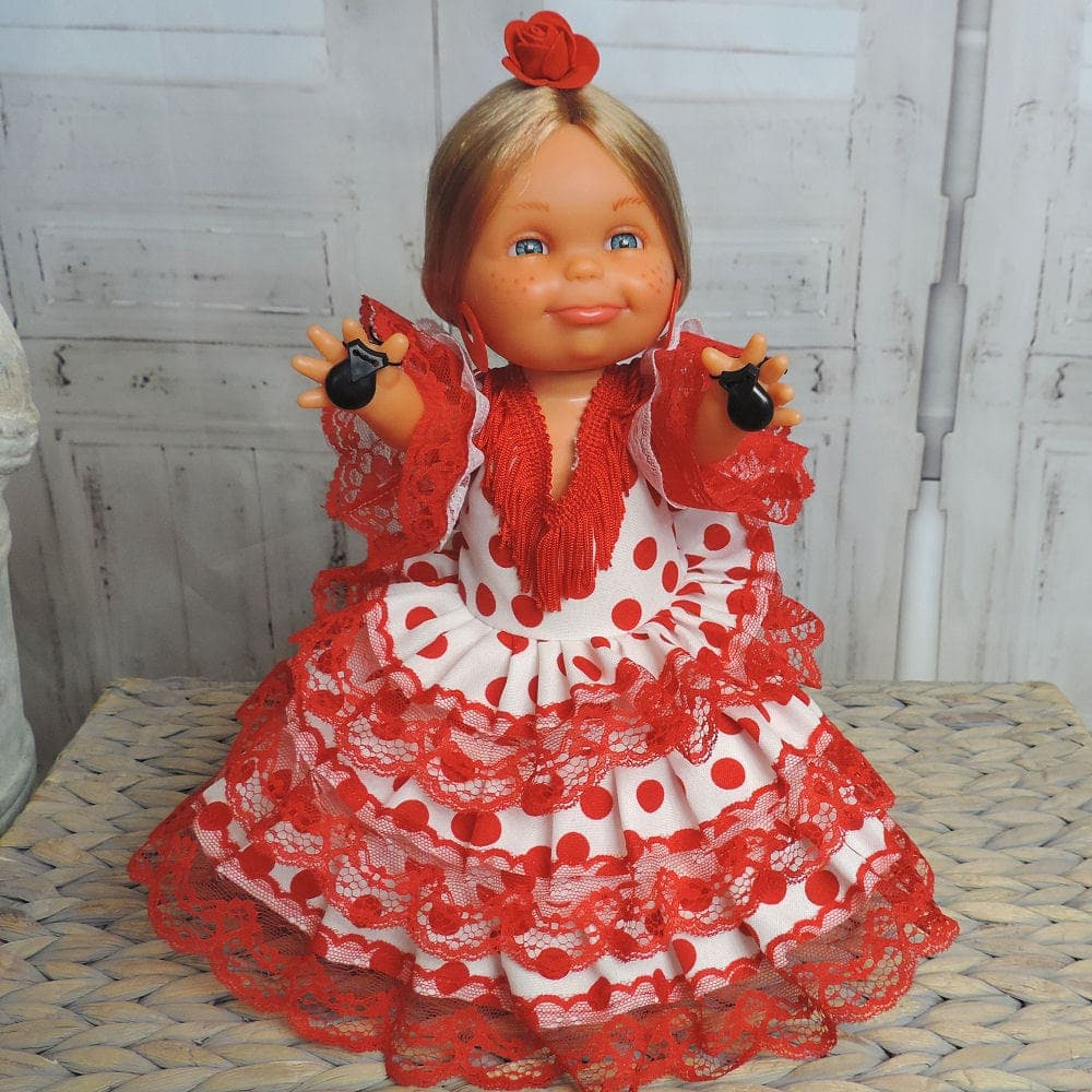 Spanish flamenco doll
