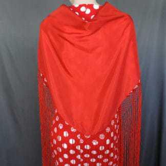 traditional flamenco shawl