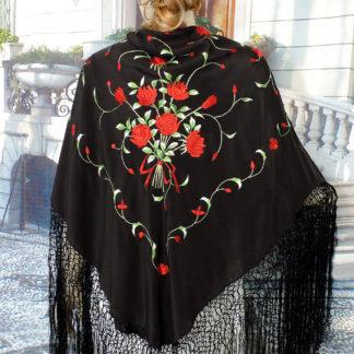 traditional Spanish manton