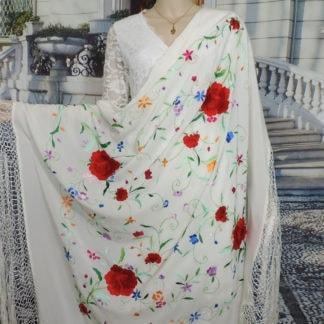 Spanish manton shawl