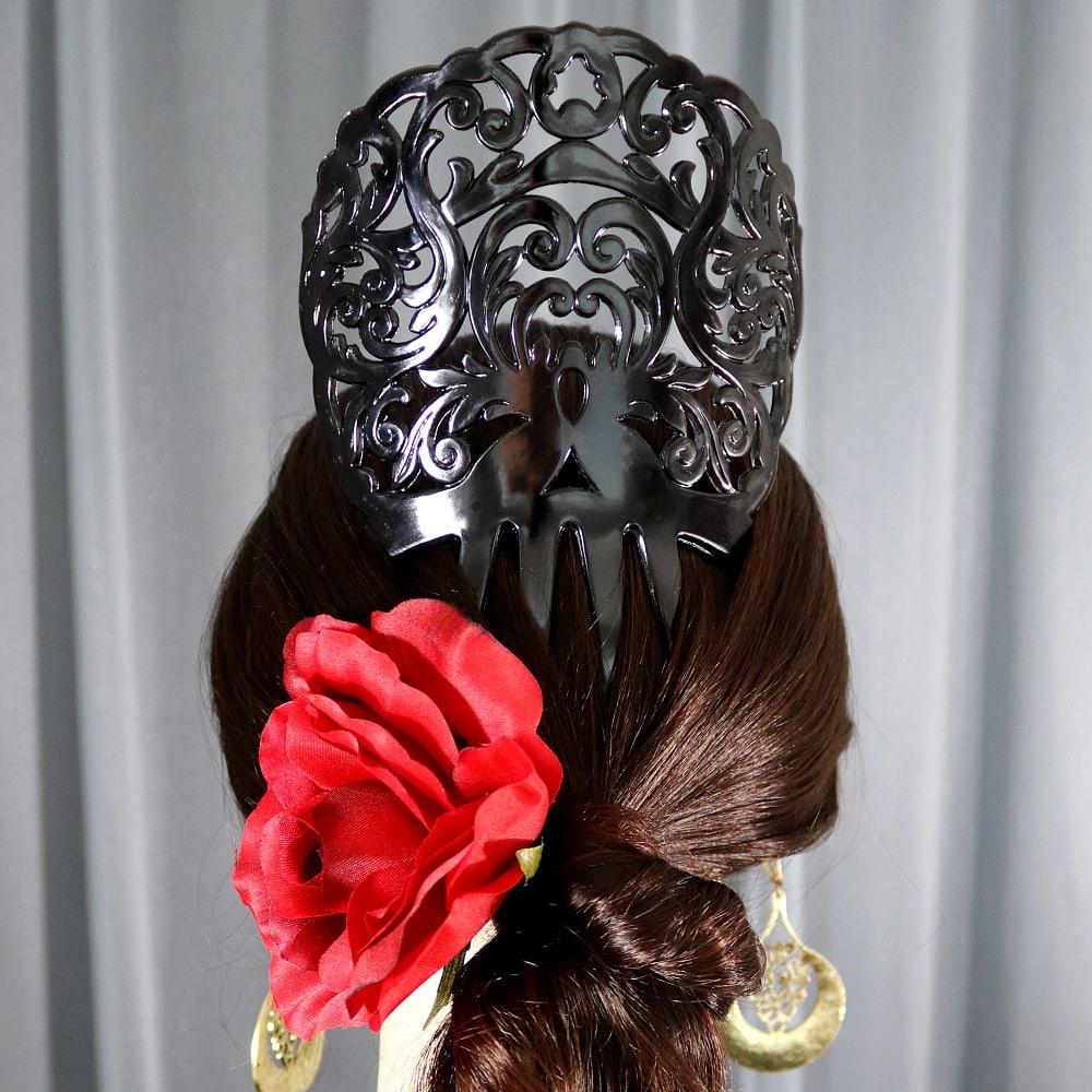 peineta Spanish hair comb