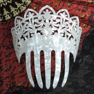 Traditional Spanish peineta comb