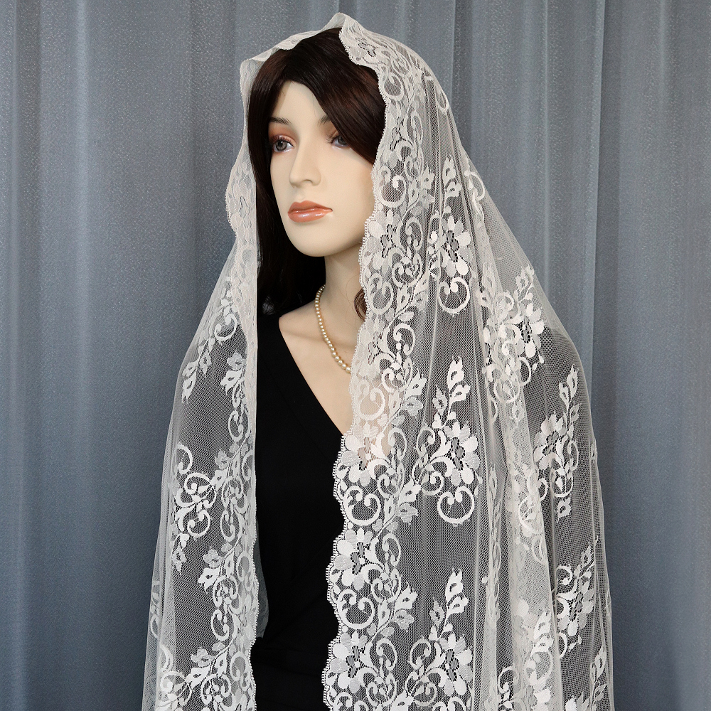 Spanish mantilla