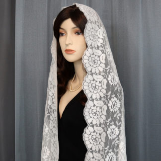 Spanish lace mantilla