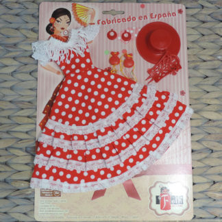 barbie doll flamenco dress