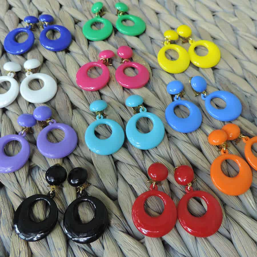 Small Flamenco earrings