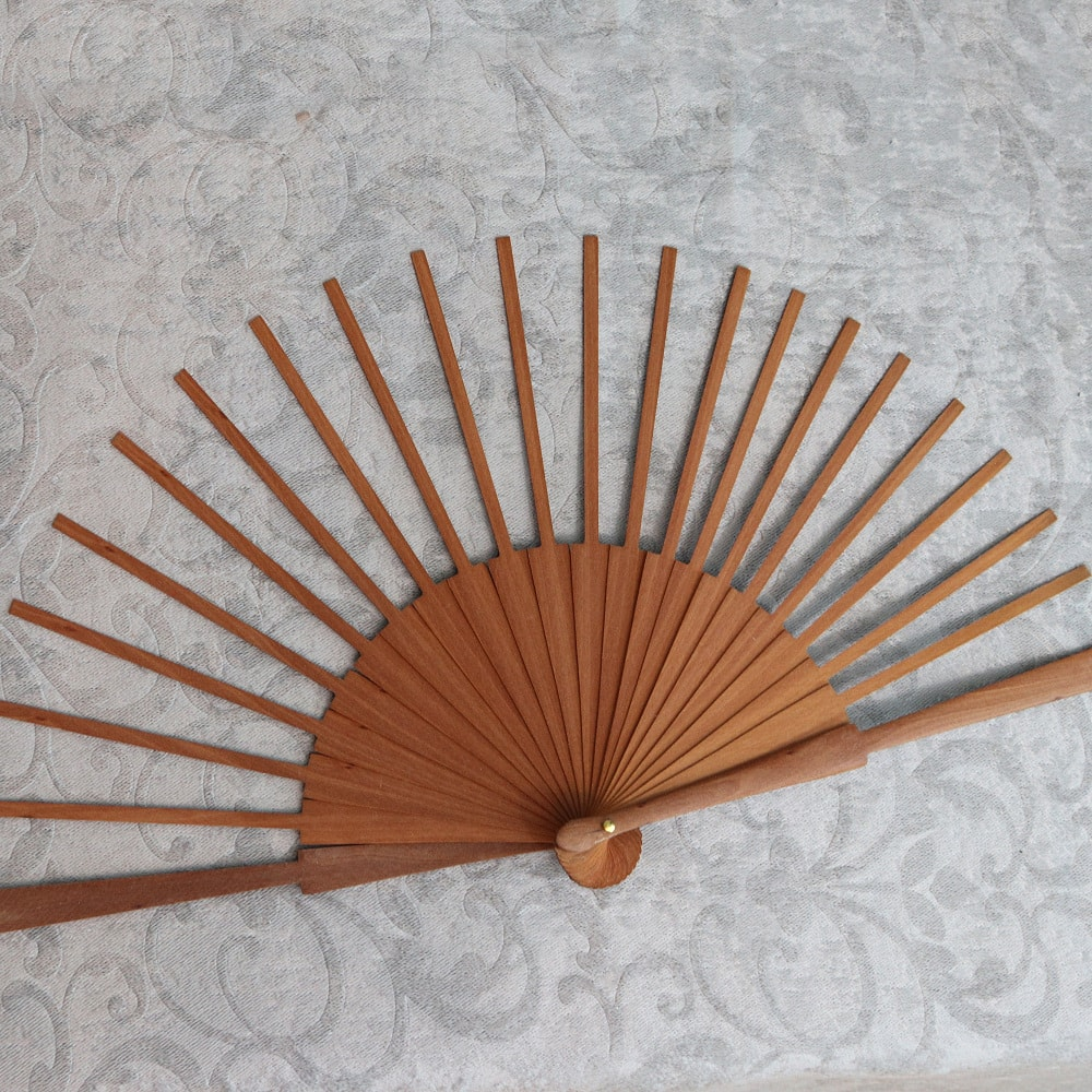 wood fan frame